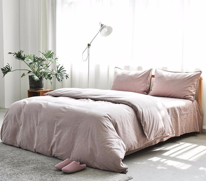 网易严选 全棉色织磨毛四件套 1.5米床