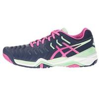 限12码:ASICS 亚瑟士 GEL-Resolution 7 女款网球鞋