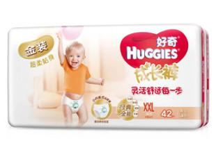 HUGGIES 好奇 金装成长裤 XXL42片