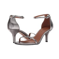 COACH 蔻驰 Heeled Sandal 女士真皮一字带凉鞋
