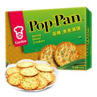 嘉頓香蔥薄餅450g早餐餅干代餐小吃兒童小孩吃貨飽腹零食特產禮盒 *4件