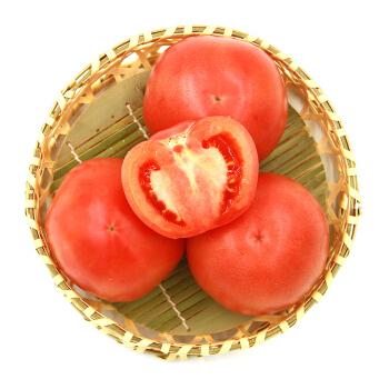 绿鲜知 西红柿 番茄 粉茄 约1.25kg 新鲜蔬菜
