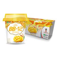 蒙牛 冠益乳 BB12 芒果+燕麥+藜麥酸奶 100g*3 小藍帽 益生菌低溫酸牛奶 風味發酵乳 *28件