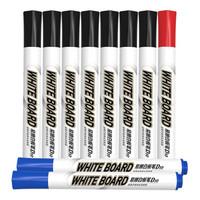 M&G 晨光 AWMY2232 易擦白板筆 10支混裝(7黑+2藍+1紅 ) *3件
