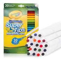 繪兒樂(Crayola)20色兒童細桿水筆可水洗 58-8106 *3件