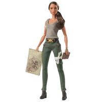 芭比女孩芭比娃娃玩具 古墓麗影 收藏玩具 FJH53 *6件