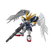 万代(BANDAI)高达GunDam拼插拼装模型玩具SDEX004 Q版飞翼零式改掉毛天使敢达0202754 *2件