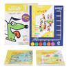 《邏輯狗:幼兒園小班兒童思維數學游戲益智玩具早教啟蒙學習機教材教具》(5本題冊+6鈕操作板)
