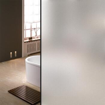 FOOJO磨砂玻璃贴纸 玻璃贴膜 免胶无痕自粘卫生间透光不透明装饰静电贴60*200cm