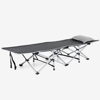 瑞仕达(Restar)折叠床 单人办公室午休床 简易儿童床陪护床午睡床 26管经典版190CM平头款