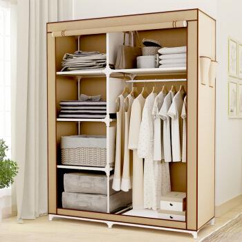 溢彩年华 简易衣柜大容量衣柜多功能衣橱布衣柜YCB5628