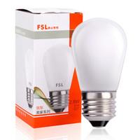 佛山照明(FSL)LED燈泡大螺口E27節能燈具2.8W暖白光2700K 明珠