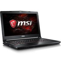 msi 微星 GS43VR 7RE-220CN 14英寸游戏笔记本电脑(i7-7700HQ、8G、1T+128GSSD、GTX1060 6G)