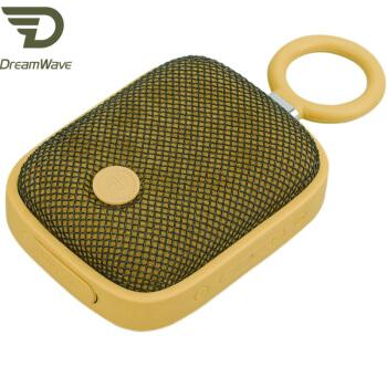 君伍(Dreamwave)Bubble Pods 音响 蓝牙音响 无线户外便携 美国泡泡夹 迷你音响 黄色