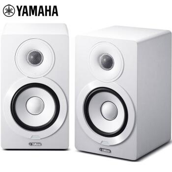 雅马哈(YAMAHA)NX-N500 音响音箱 书架音响 监听音响 有源音响 网络/WIFI/蓝牙 白色