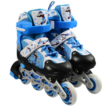 Enpex 乐士 直排闪光溜冰鞋
