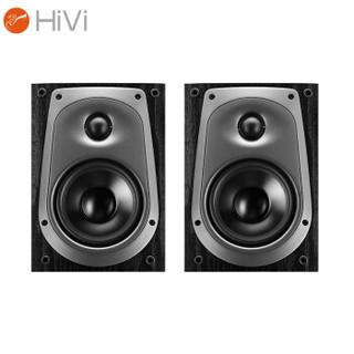 HiVi 惠威 D50R 音响 音箱 家庭影院环绕音响 木质HIFI