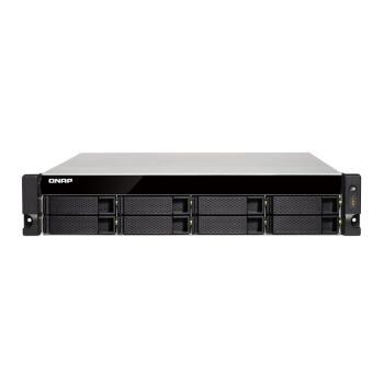 威联通(QNAP)TS-853BU 4G内存 单电源企业级8盘机架式网络存储服务器NAS 含导轨(无内置硬盘)