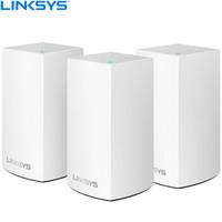 LINKSYS 領勢 Velop AC3900M雙頻 Mesh分布式 路由器 三只裝