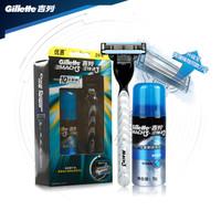 Gillette 吉列 鋒速3經典 手動剃須刀優惠裝