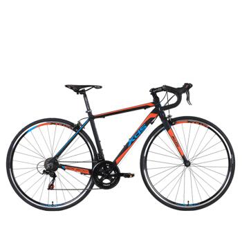 喜德盛公路自行车RX200运动健身14速700C轮径双U刹单车铝合金变速车 黑橙色700C*48cm