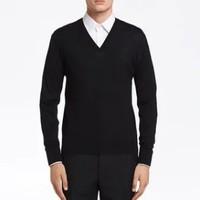 PRADA 普拉达 UMM985C5W 男士v领羊毛针织毛衣