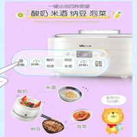 小熊(Bear)酸奶機家用全自動大容量分杯米酒機納豆泡菜機SNJ-C10P2 *4件