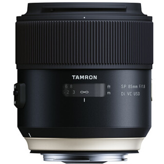 TAMRON 腾龙 SP 85mm F/1.8 Di VC USD [F016] 全画幅定焦镜头 佳能口