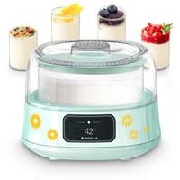 志高(CHIGO)酸奶機家用全自動恒溫發酵加厚玻璃內膽SNJ313 配4密封玻璃分杯