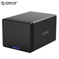 奥睿科(ORICO)3.5英寸硬盘柜USB3.0 多盘位硬盘盒SATA串口台式机硬盘存储外置盒  五盘位磁吸式NS500U3
