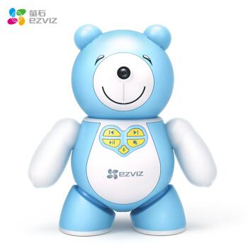 萤石 (EZVIZ) 儿童陪护智能机器人 智能高清摄像头 早教益智学习故事机 儿童礼物 语音互动