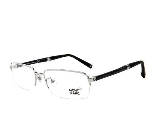 MontBlanc 万宝龙 Meisterstuck 大班系列 MB450-018 半框光学眼镜