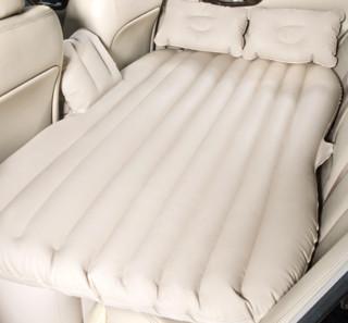 沿途 车载充气床 分体无挡 米色