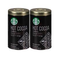 STARBUCKS 星巴克 经典烘焙速溶热可可粉 (850克、2罐)