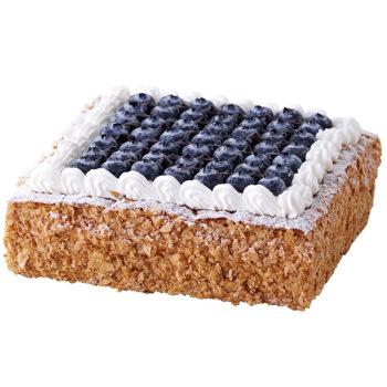 LE CAKE 诺心 蓝莓拿破仑蛋糕 生日蛋糕 1磅