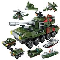 ENLIGHTEN 启蒙 1803 8合1坦克装甲车