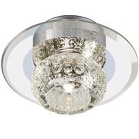 欧普照明(OPPLE) LED水晶射灯走廊玄关牛眼灯水晶玻璃装饰天花灯 装饰款3000K黄光4瓦