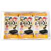 京東PLUS會員 : 韓國進口ZEK海苔即食壽司紫菜包飯海味小吃橄欖油3包兒童營養健康休閑零食12g *23件