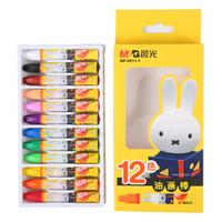 京東PLUS會員 : M&G 晨光 MF9011-1 米菲卡通3D六角油畫棒 12色 *6件