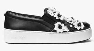 MICHAEL KORS 迈克·科尔斯 Trent Floral Sequined 女士休闲鞋