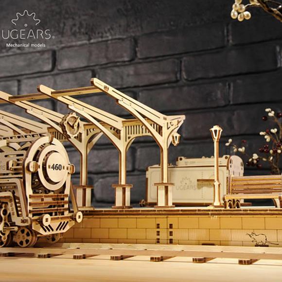 UGEARS 木质机械传动模型
