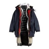 新品预售 : BALENCIAGA 男士多层设计派克大衣