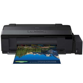 EPSON 爱普生 L1800 喷墨打印机 (墨仓/加墨式打印、USB、墨水、A3和A3以上幅面、黑色)