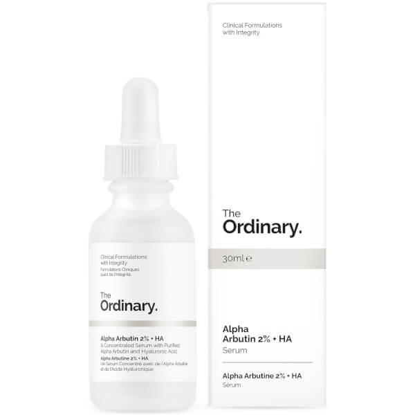 The Ordinary 2%α-熊果苷+透明质酸精华液 30ml