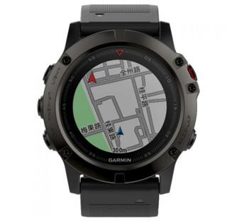 GARMIN 佳明 fenix 5X 中文蓝宝石玻璃镜面DLC版 多功能心率腕表