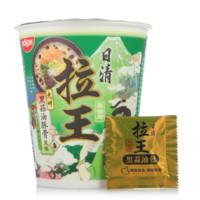 NISSIN 日清 拉王 九州黑蒜油豚骨风味 方便面 80g/杯