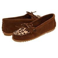 凑单品:Minnetonka 迷你唐卡 Leopard Kilty Moc 女款休闲鞋