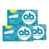 OB普通型16條*3(內置式衛生棉條)新老包裝隨機發放