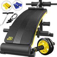 AB仰卧板仰卧起坐健身器材家用运动收腹训练多功能辅助器可折叠腹肌板 AB001D7