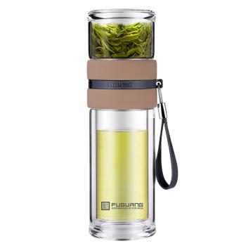 富光 泡茶师系列 G1609-SH-240 茶水分离玻璃杯